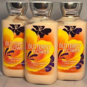 Bath & Body Works Butterfly Flower Lotions X3🆕